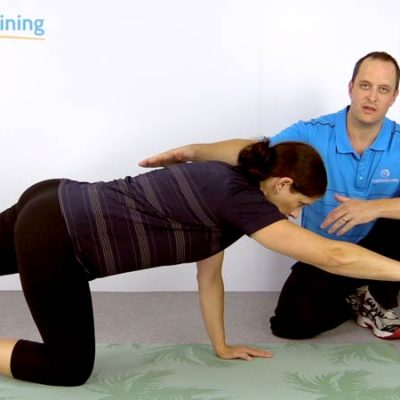 TCC1 Lumbar Exercise Bird Dog