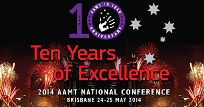AAMT Conference 2014 - 10 Years