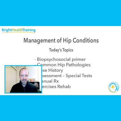 Management of Hip Conditions